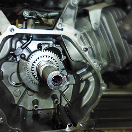 Linea de transmisión y potencia mecánica