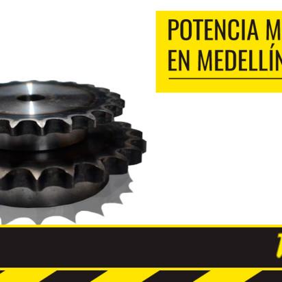 Fabricamos elementos de trasmisión y potencia mecánica en Medellín