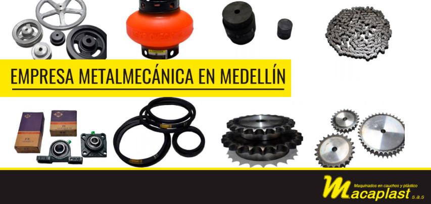 Importancia de una empresa metalmecánica en Medellín