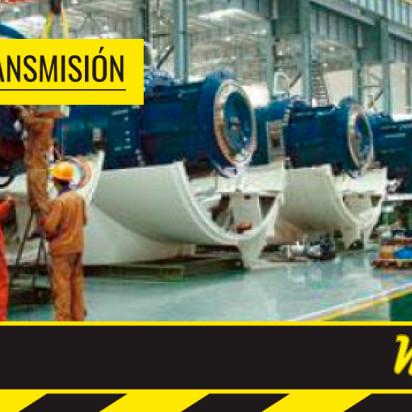 Línea de transmisión y potencia mecánica en Macaplast