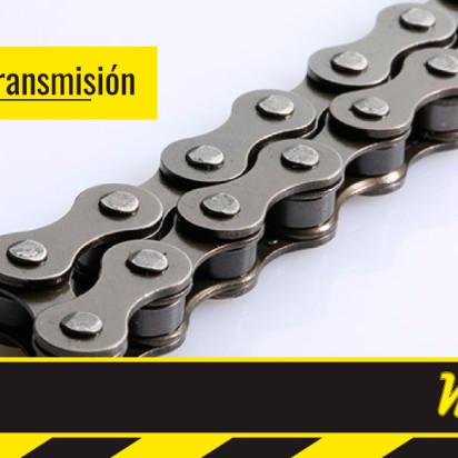 Limpieza y lubricación de las cadenas de transmisión