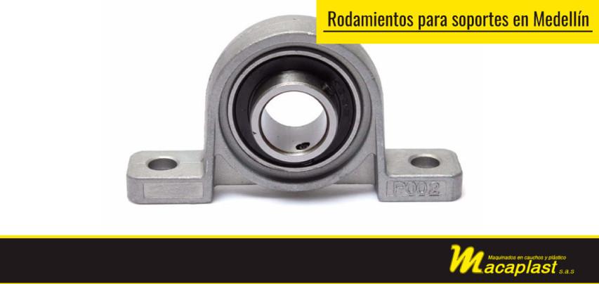 Usos de los rodamientos para soportes en Medellín